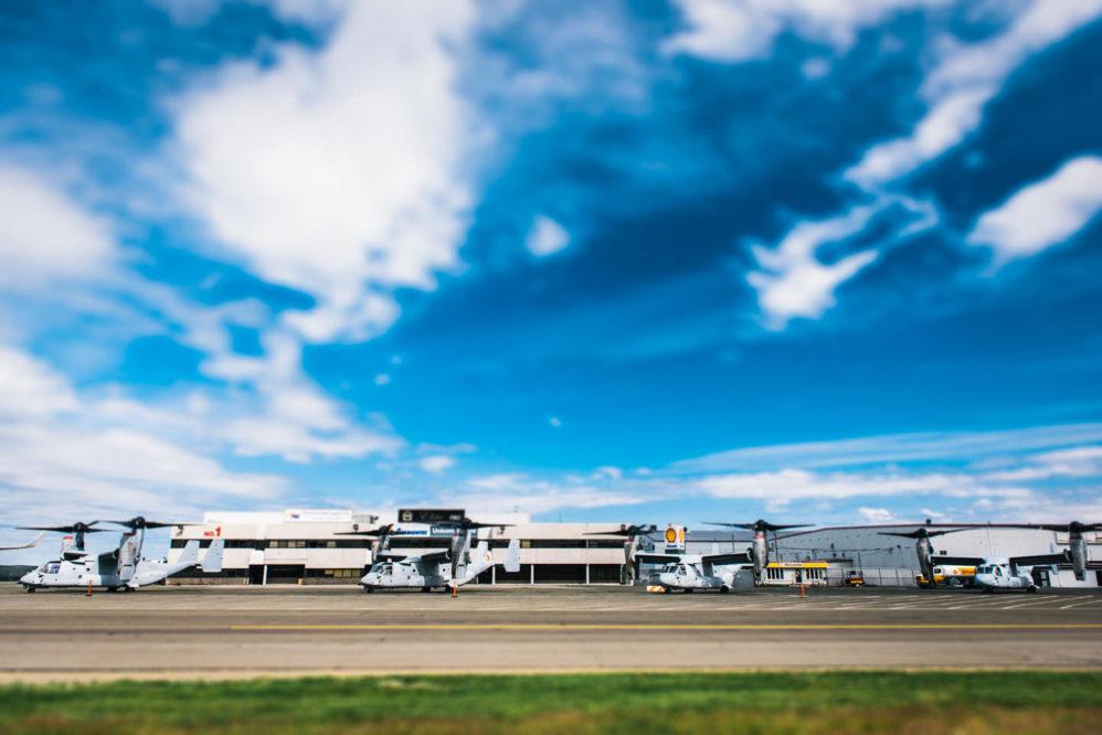cool planes miltary newfoundland pal st. john's airport usmc osprey